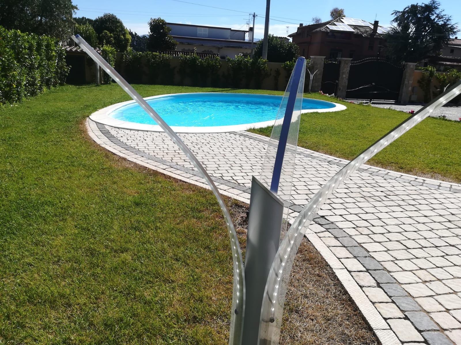 4 idee per lilluminazione piscina ecosistema magazine