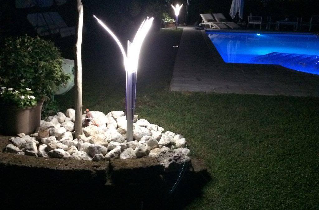 Lampade da giardino a led prezzi economici e di lusso